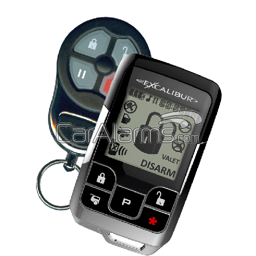 Omega Excalibur AL-1851-EDPB Deluxe 2-Way Vehicle Security & Remote Start System With BLADE Compatibility