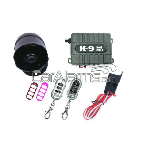 Omega K-9 170-LA Vehicle Security & Keyless Entry System