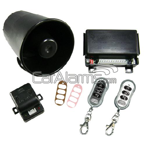 Omega K-9 Mundial-5 Vehicle Security & Keyless Entry System