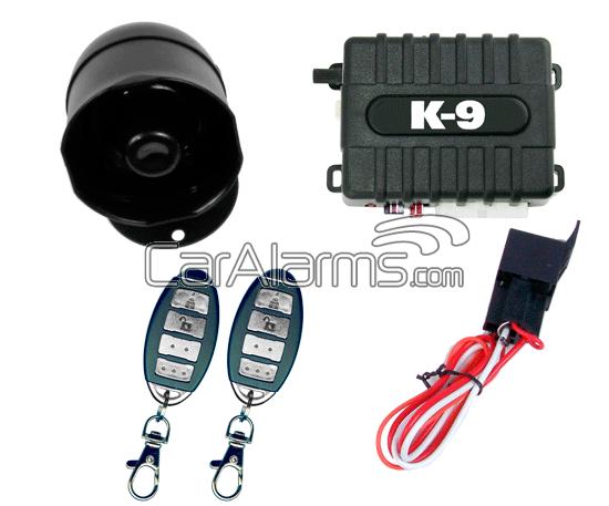 K9 MUNDIAL-6 1-Way Security System