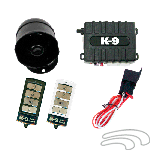 Omega K-9 160-LA Vehicle Security & Keyless Entry System