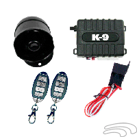Omega K-9 140-LA Vehicle Security & Keyless Entry System