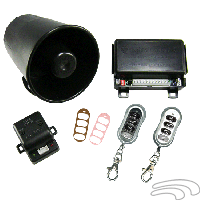 Omega K-9 Mundial-5 Vehicle Security & Keyless Entry System